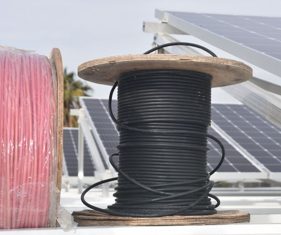 solar cables for the PV modules